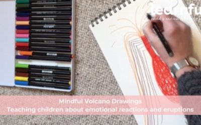 Mindful Volcano Drawing: Teaching children to be aware of emotional reactions and eruptions